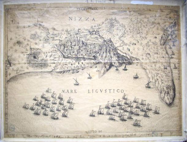 In the Siege of Nice in 1543, Barbarossa's fleet combined with a French force to capture the city.