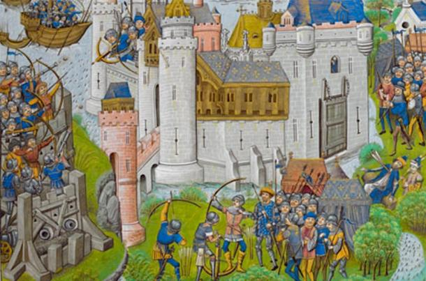 The Siege of Harfleur was a prelude to the Battle of Agincourt. (British Library Board / Public Domain)