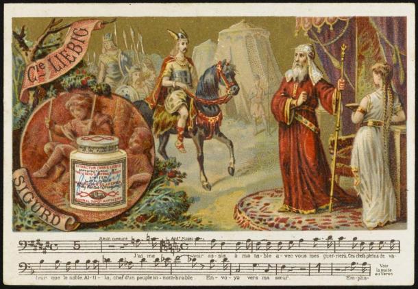 Sigurd and Regin, 1885 (Fotolia)