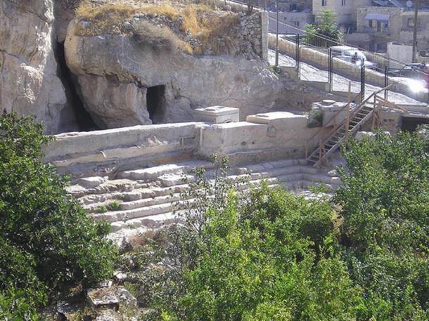 Pool of Siloam – Jerusalem, in 2005.