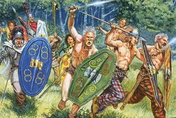 Representative image of Silures warriors. (Silurian Games)