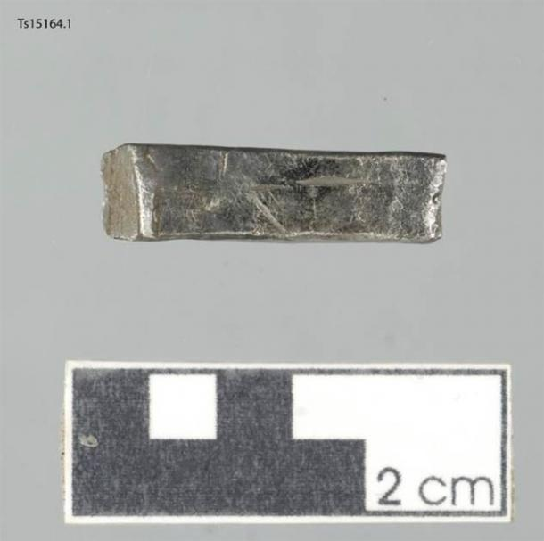 Silver found at Sandtorg farm, near Tjelsund, in northern Norway. During Viking times, silver could be used to pay for goods and as a resource for silversmiths. (Julie Holme Damman / The Arctic University Museum of Norway)