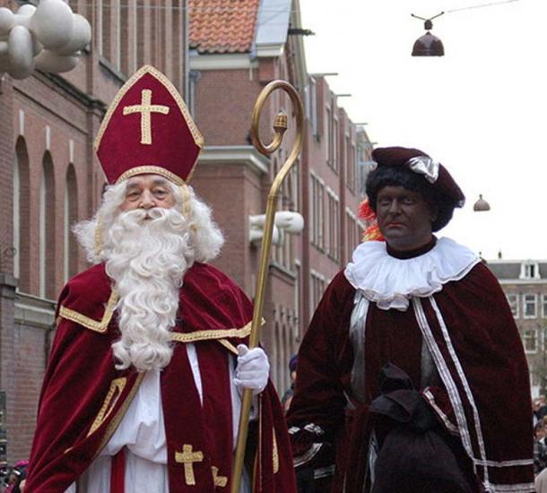 Sinterklaas and Zwarte Piet. (Michell Zappa/CC BY SA 2.0)