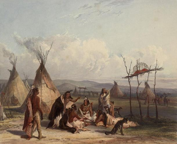 People from the Sioux tribe