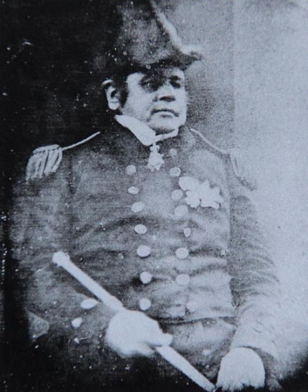 Captain Sir John Franklin, 1845 photo.