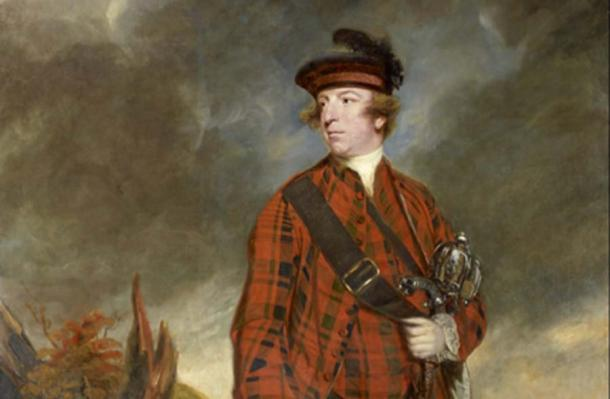 Sir Joshua Reynolds - John Murray, 4th Earl of Dunmore (Public Domain)