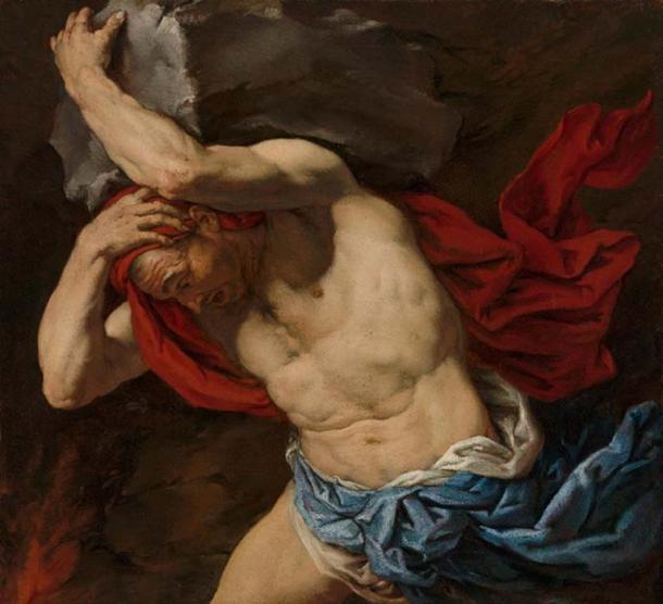 'Sisyphus' by Antonio Zanchi. (Public Domain )