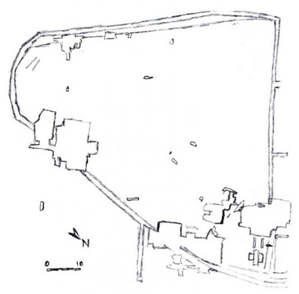 Sitemap of Dolni Vestonice 1 and 2