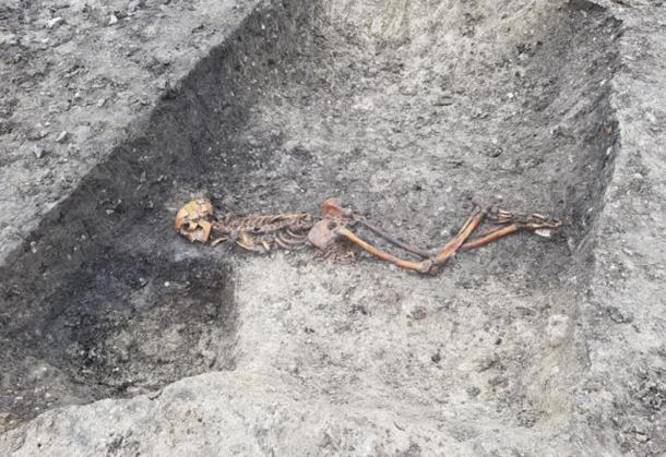 Skeleton of an Iron Age murder victim has been found while excavating an archaeological site at Wellwick Farm near Wendover