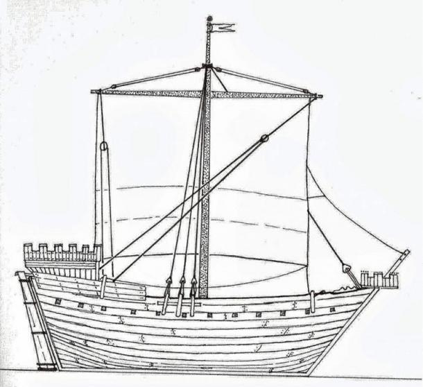 Sketch of the Hanneke Wromen made according to the instructions Rauno Koivusaari