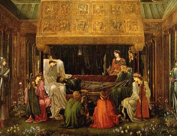 The Last Sleep of Arthur in Avalon.