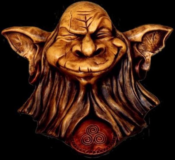 """Escultura de """"Korrigan"""", un pequeño elfo de los bosques celtas. (CC BY 2.0)"""