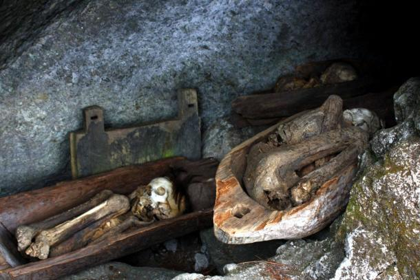 Smoked Mummies of the Kabayan Caves, Philippines.