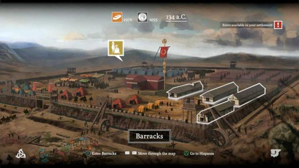 Snapshot from the videogame 'Numantia.' Credit: RECO Technology