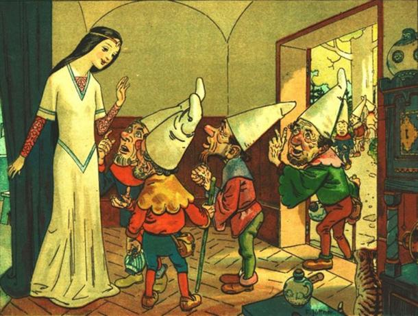 Snow White, one of the Disney Stories, possibly has origins in a German folktale. (Geagea / Public Domain)
