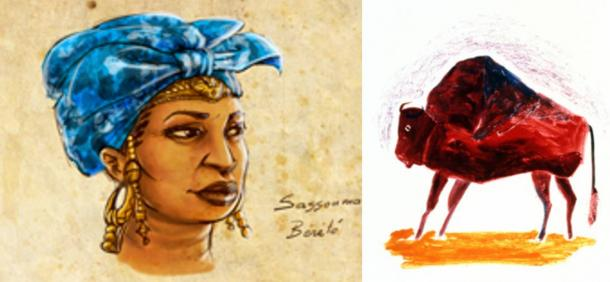 Sogolon Kedjou, the 'Buffalo Woman'.