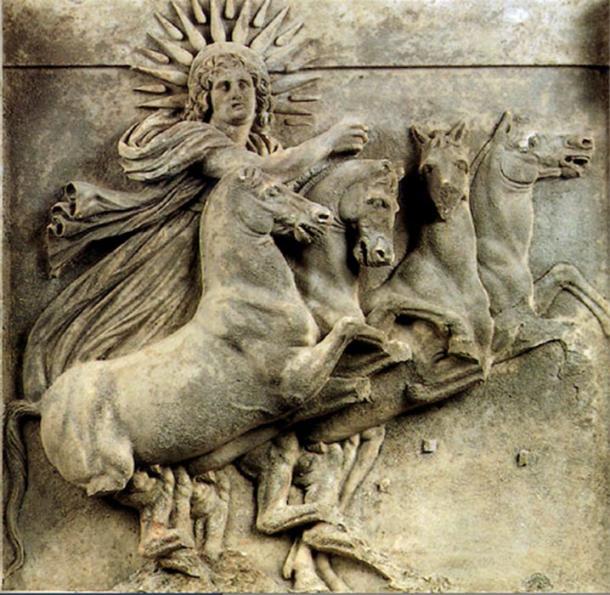 The Solar God, Mitras.