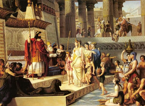 Solomon and The Queen of Sheba, by Giovanni Demin.