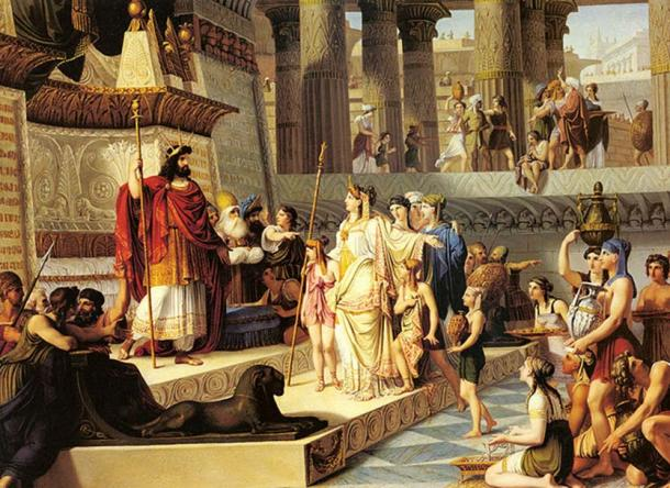 'Solomon and the Queen of Sheba' by Giovanni Demin.