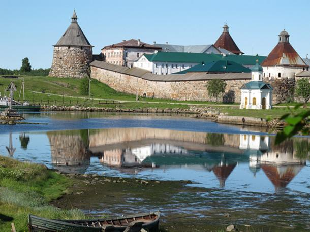 Solovetsky Monastery was established in the 15th century.