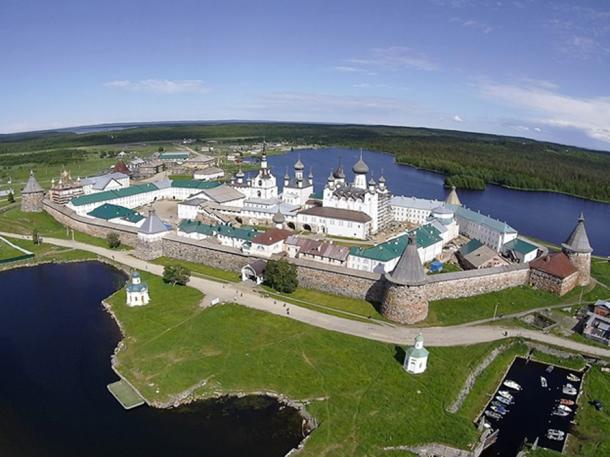 Solovetsky Monastery.