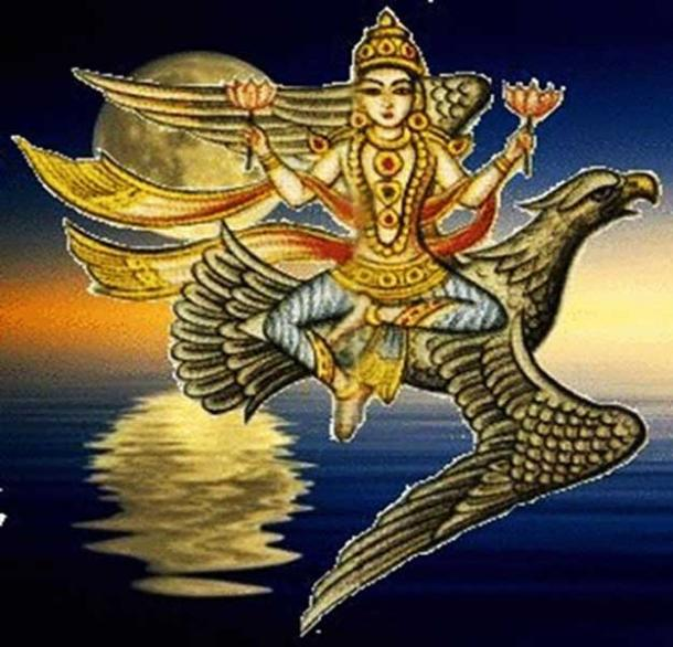 Soma, Hindu God of the Moon.