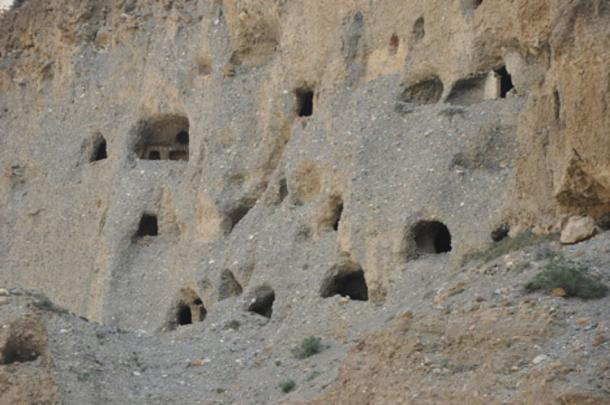 Some of the caves.