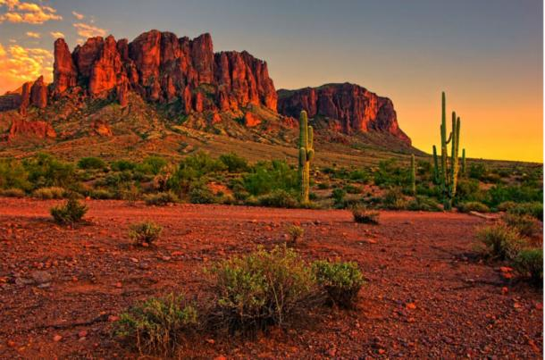 According to legend, the seven cities of gold could be found in the Sonoran Desert, Arizona.