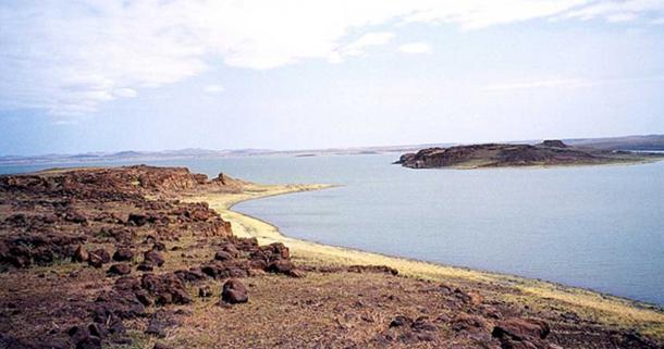South Island of Lake Turkana, Kenya. (CC BY-SA 3.0)