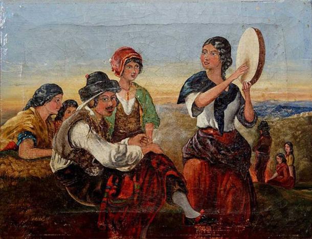 'Spanish Gypsies.' Source: Public Domain