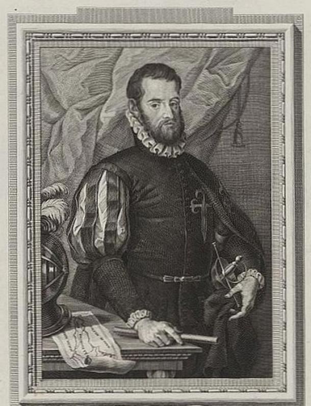 Spanish admiral Pedro Menéndez de Avilés (1519-1574) by Francisco de Paula Martí (1762-1827).