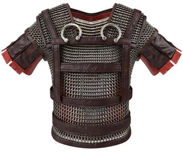 Spartan armor / breastplate. (pit3dd / Adobe)