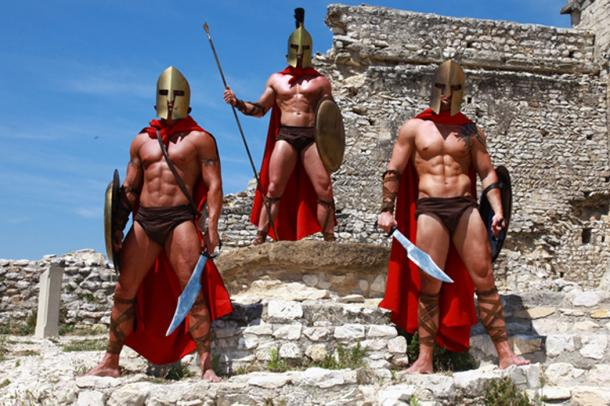 Spartan warriors participating in the games. (Daylight Photo / Adobe)
