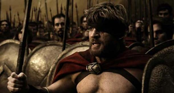 Spartans from the movie 300
