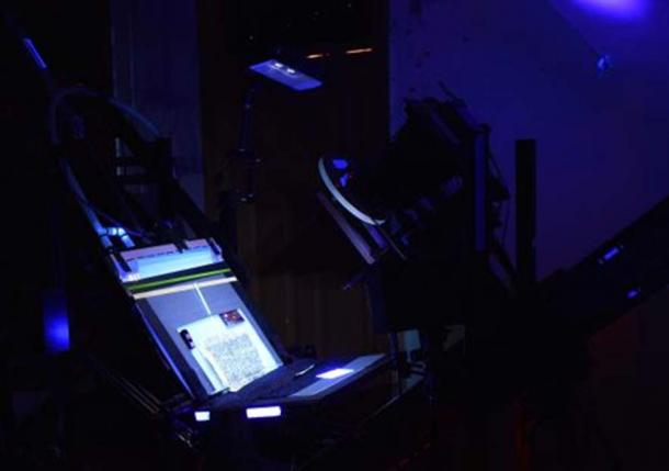 Spectral imaging system in that is being used at St. Catherine's Monastery