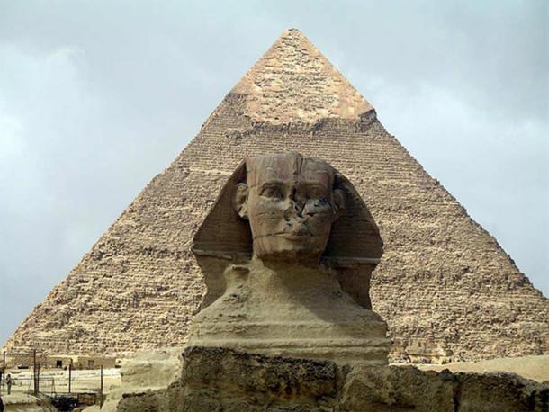 The Sphinx at Giza ( CC BY-SA 2.0 )