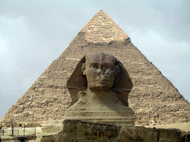 The Sphinx at Giza