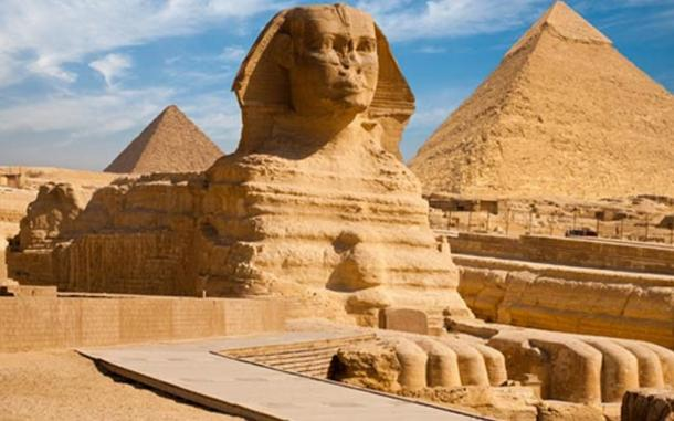 he Sphinx of Giza, Egypt.