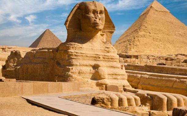 he Sphinx of Giza, Egypt.