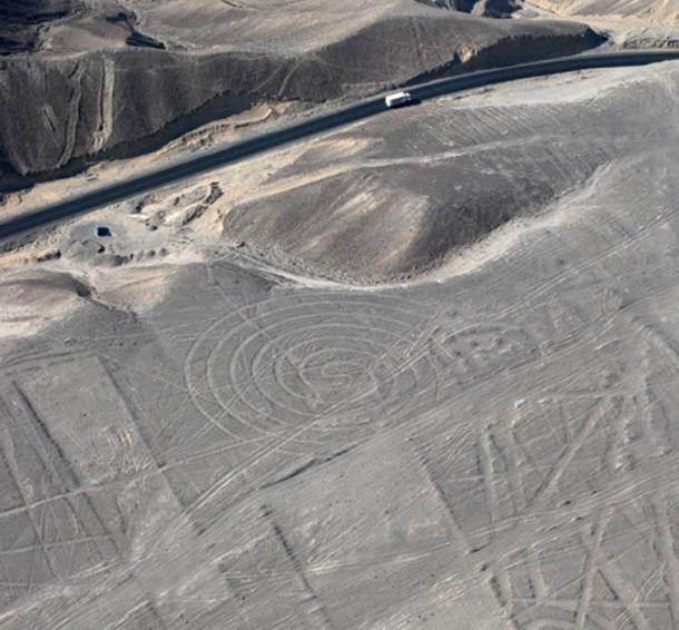 Spiral Nazca line,