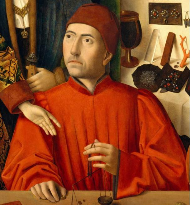 St Eligius in His Workshop