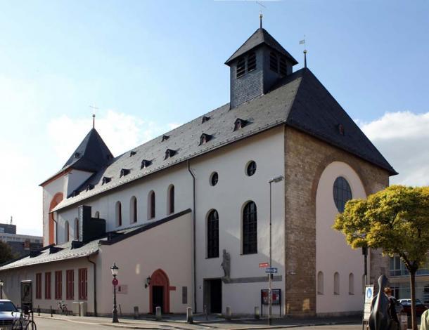 St. John's Church (in German Johanniskirche) in Mainz (CC by SA 3.0)