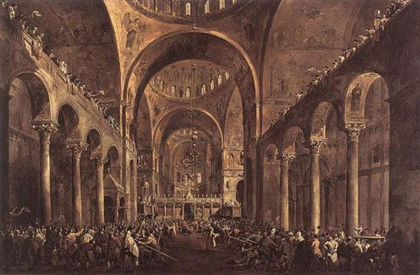 St Mark's Basilica.