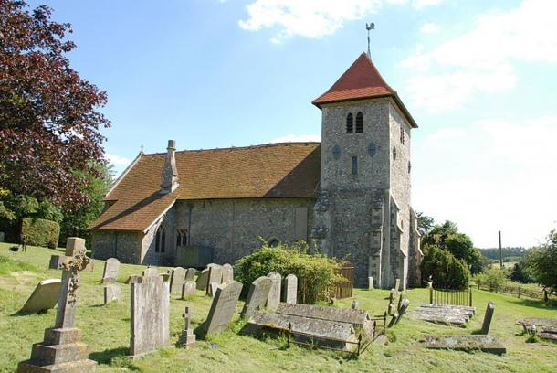 St Mary Church in Aldworth