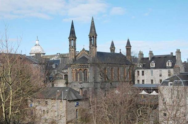 The former Kirk (Church) of St. Nicholas in Aberdeen was a site of much sad history during the Great Witch Hunt of 1596-1597.