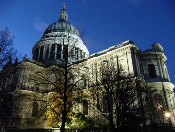 St Paul's Cathedral. Some people believe there was a stone circle on Ludgate Hill, where the cathedral now stands, and that the London Stone was an outlying 'heel' stone, marking a place from which the circle should be viewed.