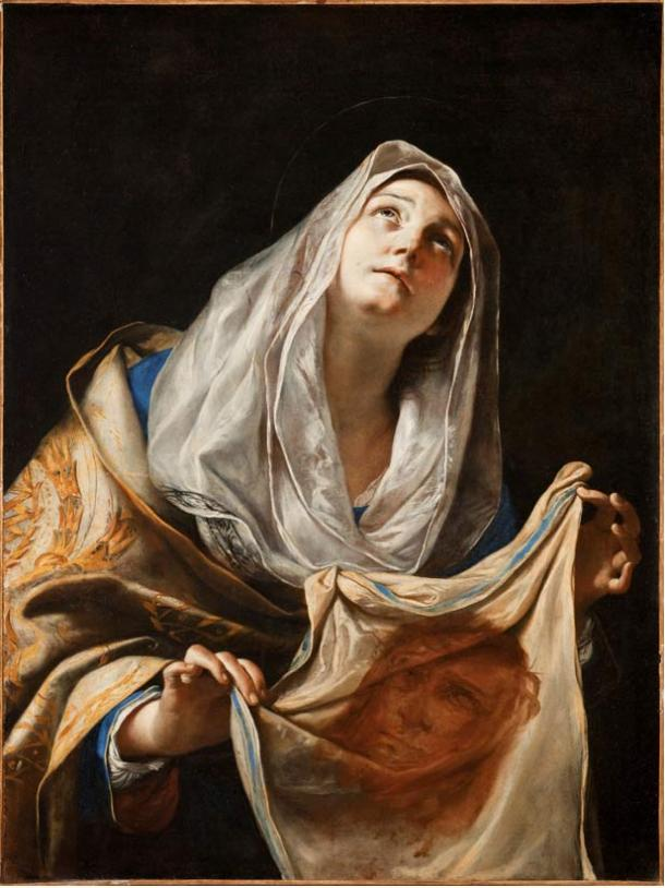 St. Veronika, painted by Mattia Preti