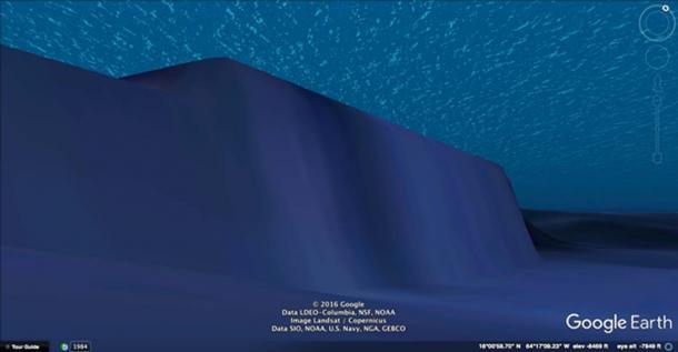 St. Croix Basin cliff.