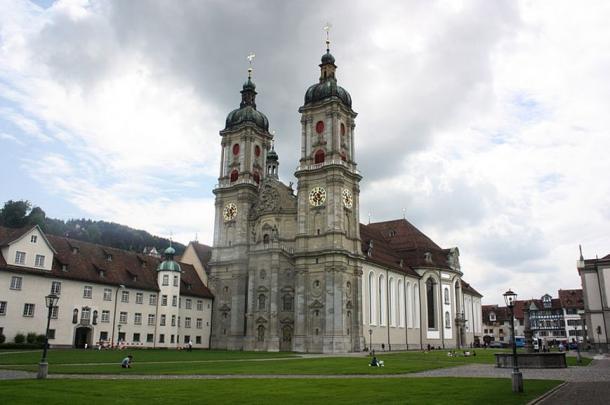 St. Gallen, the abbey church.