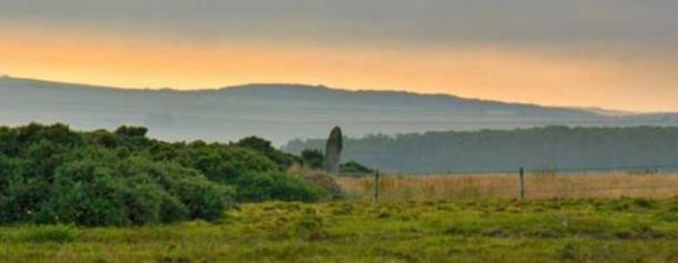 Standing Stone Lud, the mythical burial site of Ljot.